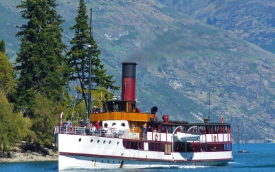Queenstown Dampfer