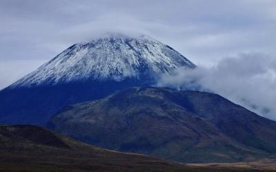 Der Vulkan Mount Tongariro
