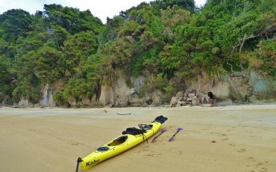 Kanu Tour im wunderschönen Abel Tasman National Park