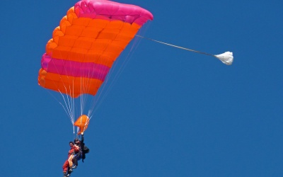 Skydiving / Fallschirmspringen über Lake Wanaka