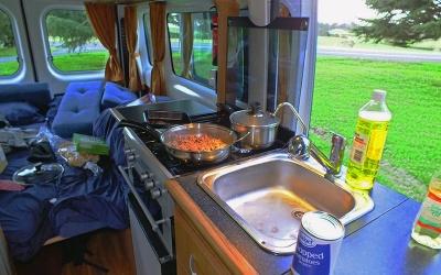 Kochen im Camper: Ein Kinderspiel